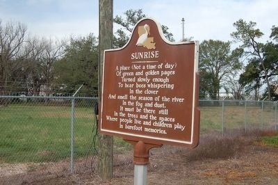 Sunrise Marker (Side B) image. Click for full size.