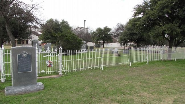 Z. Motley Cemetery and Marker image. Click for full size.