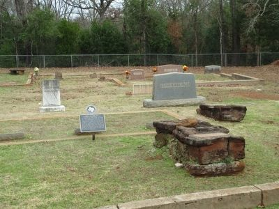 James Calhoun Hill Marker and Meador Cemetery image. Click for full size.