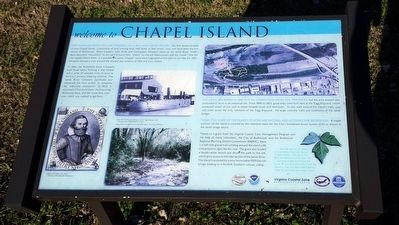 Chapel Island Marker image. Click for full size.