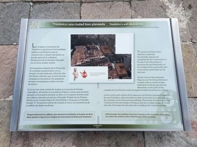Tlatelolco: a well-planned city Marker image. Click for full size.