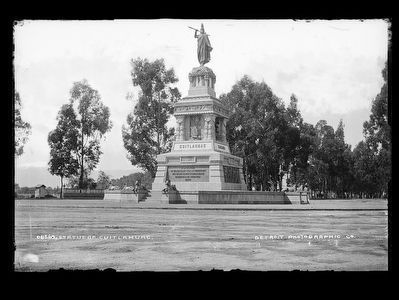 Monument to Cuauhtémoc and His Warriors image. Click for full size.