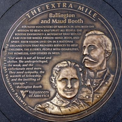 Ballington & Maud Booth Marker image. Click for full size.