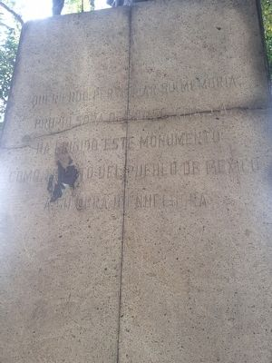 Samuel Hahnemann Marker, left side image. Click for full size.