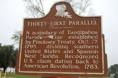 Thirty-First Parallel Marker image. Click for full size.