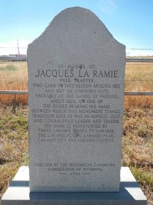 Jacques La Ramie Marker image. Click for full size.