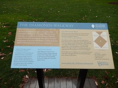 The Diamonds Walkway Marker image. Click for full size.