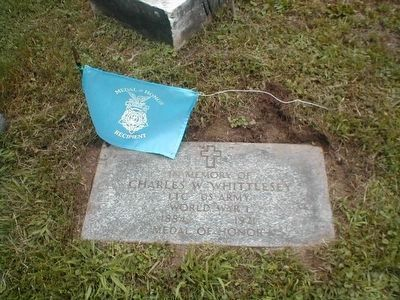 LTC Charles W. Whittlesey-Medal of Honor Recipient-Argonne Forest image. Click for full size.