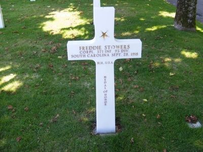 Freddie Stowers-Medal of Honor Recipient World War I image. Click for full size.