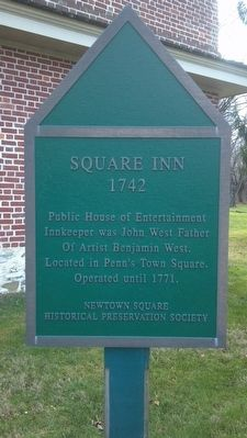 Square Inn Marker image. Click for full size.