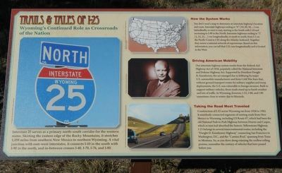 Trails & Tales of I-25 Marker image. Click for full size.