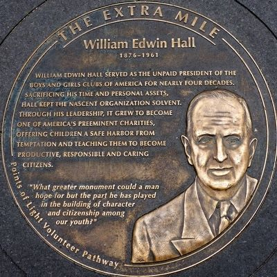 William Edwin Hall 1876 - 1961 Marker image. Click for full size.