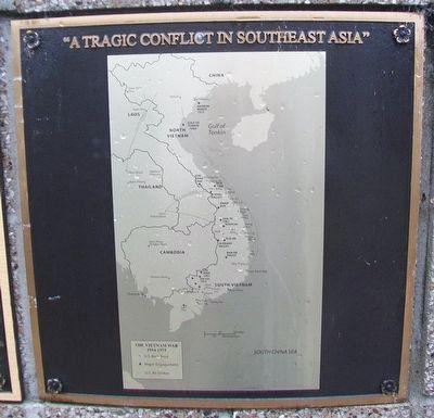 Vietnam Map Marker image. Click for full size.