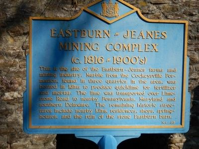 Eastburn-Jeanes Mining Complex Marker image. Click for full size.