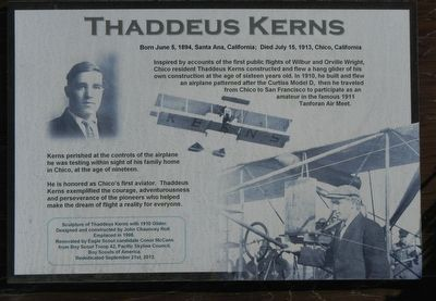 Thaddeus Kerns Marker image. Click for full size.