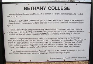 Bethany College Marker image. Click for full size.