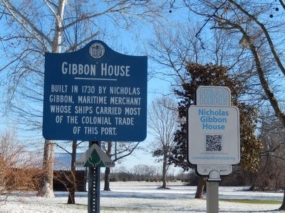 Gibbon House Marker image. Click for full size.
