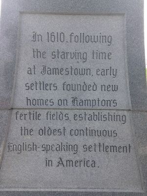 Hampton Monument Marker image. Click for full size.