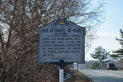 Site of Chapel-of-Ease Marker image. Click for full size.