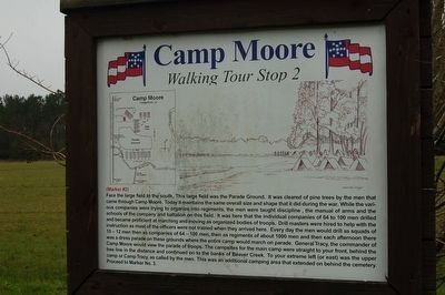 Camp Moore #2 Marker image. Click for full size.