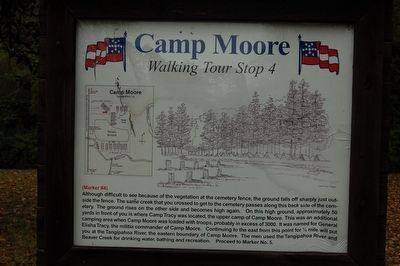 Camp Moore #4 Marker image. Click for full size.