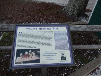 Historic Cold Spring Village Marker image. Click for full size.