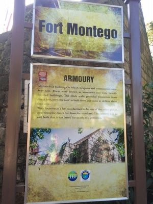 Fort Montego Armoury Marker image. Click for full size.