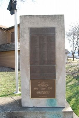 Glenfield War Memorial - World War II, Korean Conflict and Vietnam Era Marker image. Click for full size.