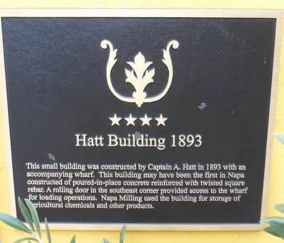 Hatt Building 1893 Marker image. Click for full size.