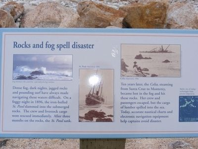 Rocks and fog spell disaster Marker image. Click for full size.