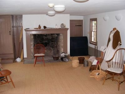 Inside the slave quarters image. Click for full size.