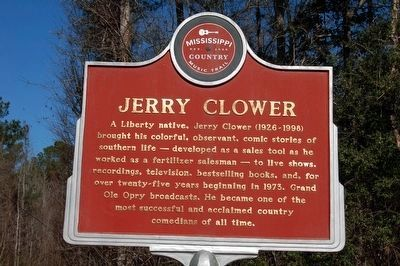 Jerry Clower Marker (side A) image. Click for full size.