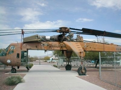 Helicopter Crane at entrance image. Click for full size.