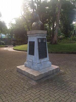 Christopher Columbus in Costa Rica Marker image. Click for full size.