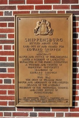 Shippensburg Marker image. Click for full size.