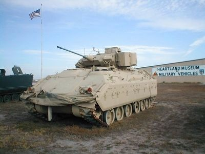 M2 Bradley Fighting Vehicle image. Click for full size.