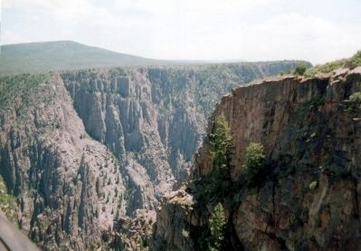 Black Canyon of the Gunnison National Park image. Click for full size.
