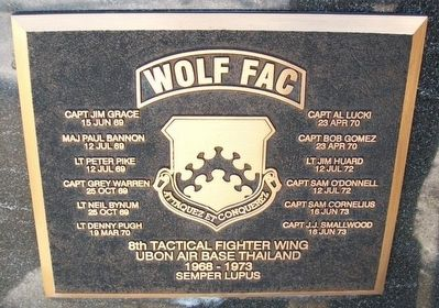 Wolf FAC Marker image. Click for full size.