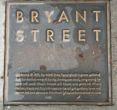 Bryant Street Marker image. Click for full size.