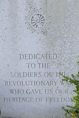 DAR Revolutionary Veterans Memorial Marker image. Click for full size.