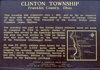 Clintonville Marker image. Click for full size.