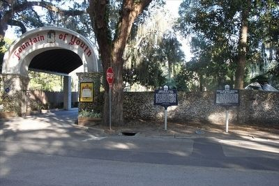 First Spanish Muster Site in Florida Marker image. Click for full size.