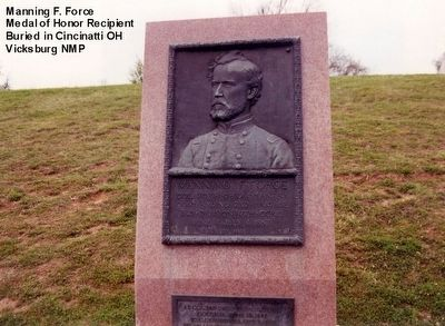 Manning F. Force Memorial Marker image. Click for full size.