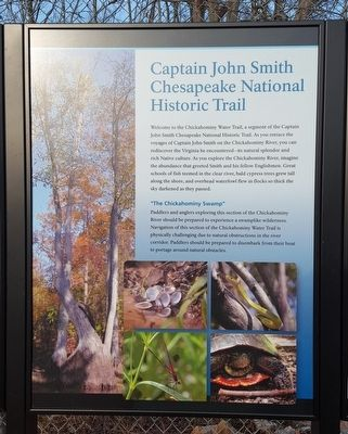 Chickahominy Water Trail (center panel) image. Click for full size.