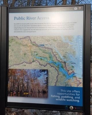 Chickahominy Water Trail (right panel) image. Click for full size.
