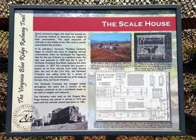 The Scale House Marker image. Click for full size.