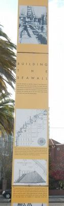 Building the Seawall Marker image. Click for full size.