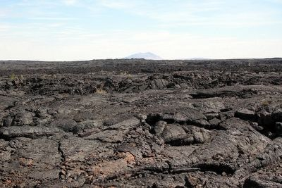 Lava Field near Marker image. Click for full size.