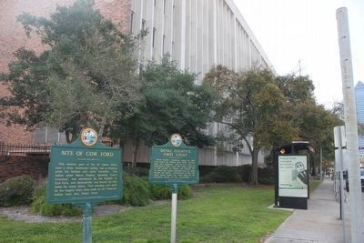 Duval County's First Court Marker image. Click for full size.