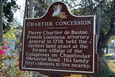 Chartier Concession Marker image. Click for full size.